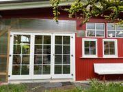 Schwedenhaus als Wohnwagen Vorbau