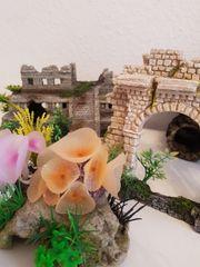 Aquarium Dekoration 4-teilig NEU