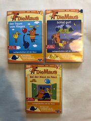 3 DVDs Sendung Maus