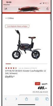 E scooter city blitz