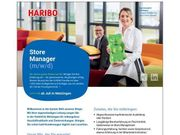 Store Manager m w d