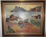 schöne Ölgemälde-Landschaft Impressionismus Öl auf