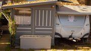 TOP Camping Wohnwagen MTH Vorzelt