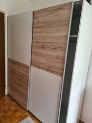 Kleiderschrank weiss Holz