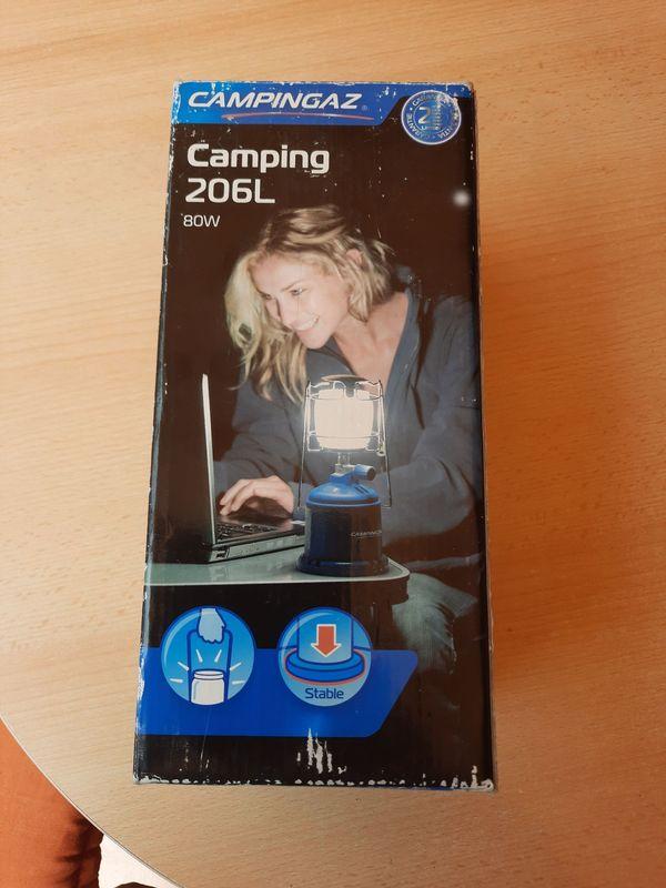 Campinggaz Gaslampe 206L 80 Watt