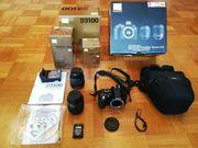 Digitalkamera Nikon D3100 Gebraucht