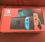 Nintendo Switch ungeöffnet neue Edition