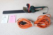 Verkaufe Metabo HS 8755 Elektro-Heckenschere