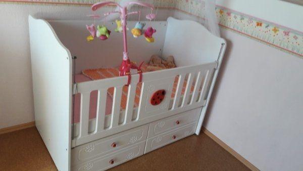 Babybett Matratze Zubehör mit toller