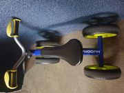 Hudora 10345 Laufrad 4Wheely blau