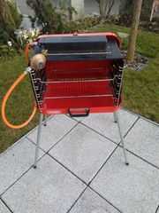 Biete Camping Koffer Grill Marke