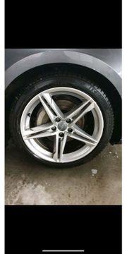 Audi A5 Alufelgen mit Allwetterreifen