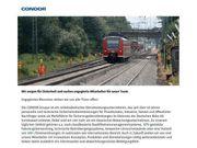 Junior Projektmanager Rail Safety Dienstleistung
