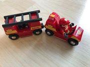 Brio Holzspielzeug Feuerwehr mit Licht