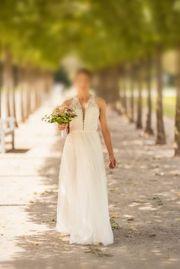 Brautkleid Hochzeitskleid Boho Vintage gebraucht