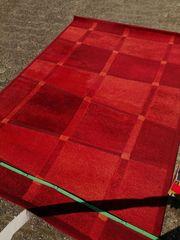 Teppich Blau Grau Schwarz und
