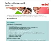 Key Account Manager m w