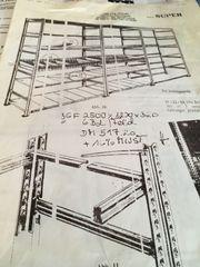 Verschenke Kellersteckregale Metall 3 Stück