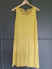 Strandkleid gelb Gr S