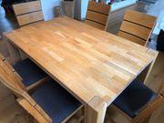 Tisch für Esszimmer Holz