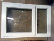 Weißes Kunststofffenster gebraucht zu verkaufen