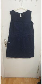 sommerkleid marinenblau Gr 44
