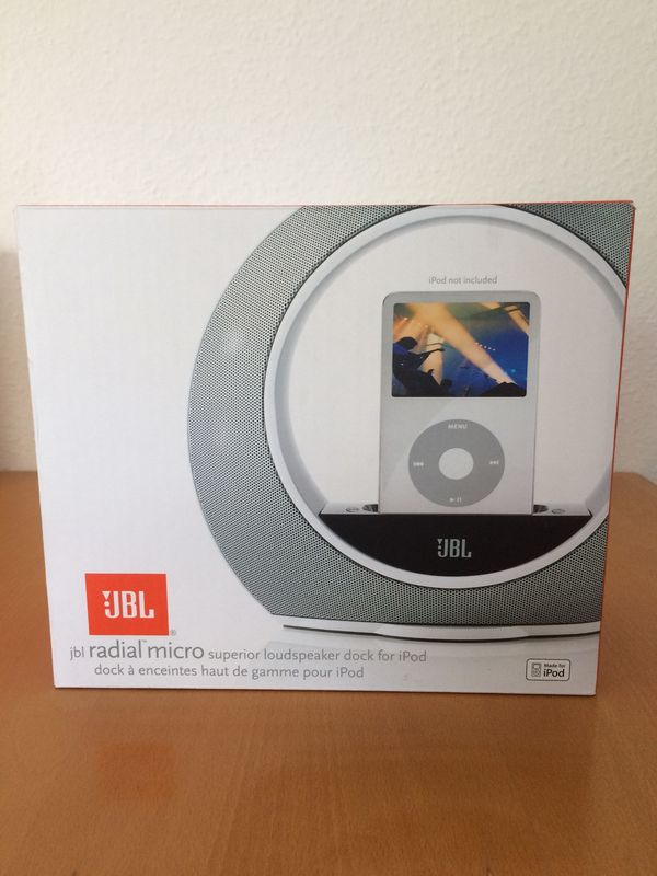 JBL Radial micro Dockingstation - silber