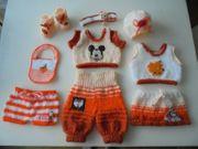 süsse Puppenkleidung 10-teilig-Baby Born Krümel