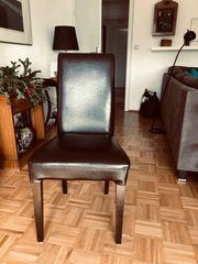 6 Esszimmer Stühle im Vintage
