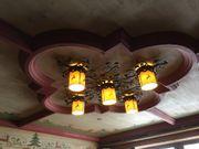 Schmiedeiserne Lampen