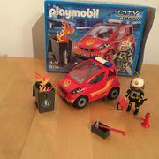 Playmobil Feuerwehreinsatz Fahrzeug Citiy Action