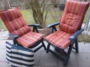 2 Stück Gartenstuhl Klappstuhl Sonnenliege
