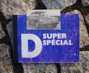 Betriebsanleitung Citroen D Super D