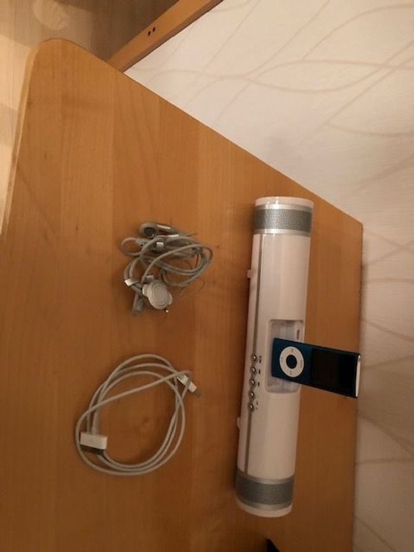 gebrauchter ipod plus Lautsprecher und