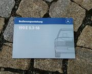 Betriebsanleitung Mercedes W201 190E 2