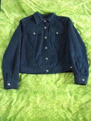 Damen Jacke 36 Blau Jackett