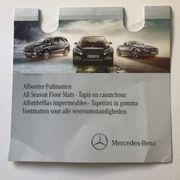Mercedes-Benz GLK X204 Allwettermatten Gummimatten