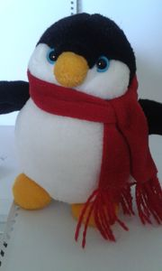 Plüsch-Pinguin
