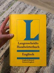 Langenscheidt Handwörterbuch Englisch