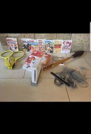 Wii Konsole Set m viel