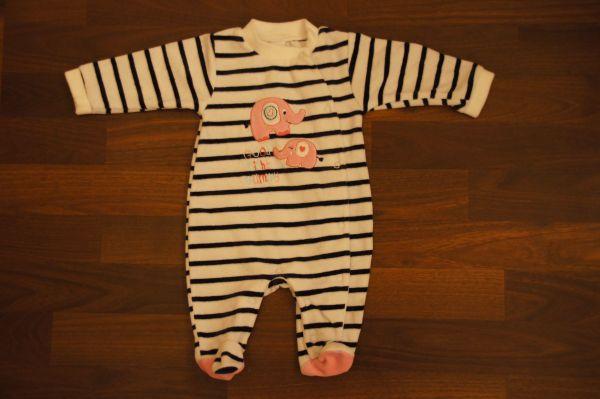 Mädchen Baby Pyjama Gr 56