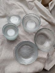 Glasschüsseln 6 teilig