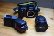 Nikon F-601 AF und Zubehör
