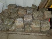 Pflastersteine Granit helles grau ca