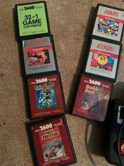 Atari 2600 mit spielen