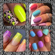 Maniküre Neumodellage Shellac Aqrylgel Nails