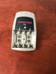 Akkuladegerät Batterie Ladegerät Uniross Sprint