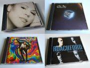 CD-Sammlung Diverse Musikalben aus den