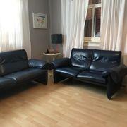 DeSede Sofa Vintage Leder Dunkelblau