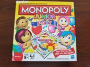 Kinderspiel Monopoly Junior Party